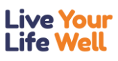 Logo of Live Life Well.